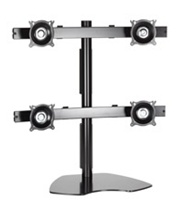 Chief KTP440B, Flat Panel Quad Monitor Table Stand