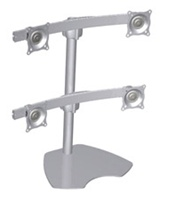 Chief KTP440S, Flat Panel Quad Monitor Table Stand
