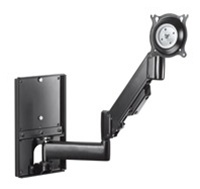 "Chief KWGSK110B, Height-Adjustable Steel Stud Monitor Wall Mount (10-32"" Displays)"