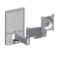 "Chief KWGSK110S, Height-Adjustable Steel Stud Monitor Wall Mount (10-32"" Displays)"