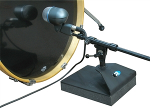 Primacoustic Kickstand: Isolated Mic Stand for Kick Drum