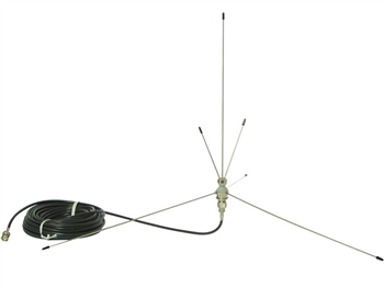 LA107 Ground Plane Remote Antenna, 216 MHz, Listen Technologies