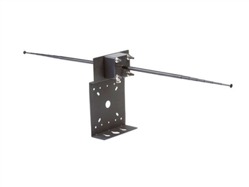LA-122 Universal Antenna Kit for 72MHz and 216MHz Systems, with Mounting Hardware and 25 inch Coax Cable, Listen Technologies