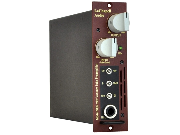 LaChapell Audio 583s with Jensen tube preamplifier