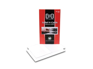 Hosa Cable Labels,LBL-466 Label-A-Cable tablet of 60 peel and stick vinyl labels.