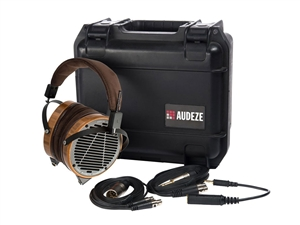 Audeze LCD-2 Headphones Leather Free Bamboo (Travel Case)