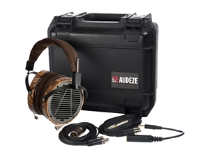 Audeze LCD-3 Headphones, Leather Free, w/ Ruggedized Travel Case
