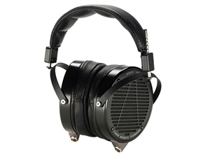 Audeze LCD-X Headphones, Anodized Aluminum, Black Leather