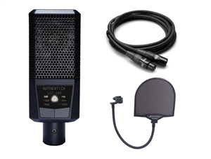 Lewitt LCT 240 w/Free Mic Cable and Pop Filter - FET Large Diaphragm Condenser Microphone