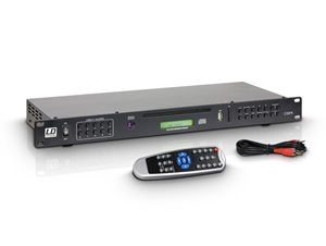 "LD Systems CDMP1 - 19"" / 1""U Rackmount Multimedia Player"