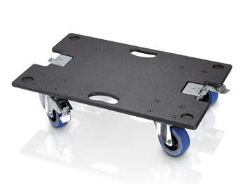 LD Systems M44CB - Caster Board for MAUI 44 SUB and MAUI 44 SUB EXT - with Butterfly Latches