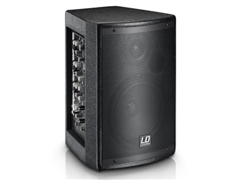 LD Systems MIX6AG2 - Powered 2-Way PA Speaker with Integrated 4 Ch Mixer