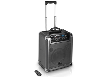 LD Systems RJ10 - Battery Powered Portable Bluetooth Speaker w/3 Channel Mixer