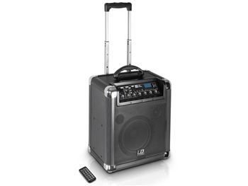 LD Systems RJ8 - Battery Powered Portable Bluetooth Speaker w/3 Channel Mixer