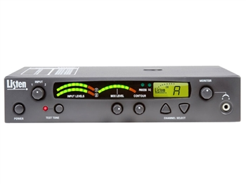 LT-800-072-01 72MHz Stationary Transmitter with 17 Wide Band/40 Narrow Band Channels, and Unlimited Receiver Use, Listen Technologies