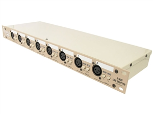 Radial LX8-j - 8-Channel balanced line level splitter with Eclipse transformers
