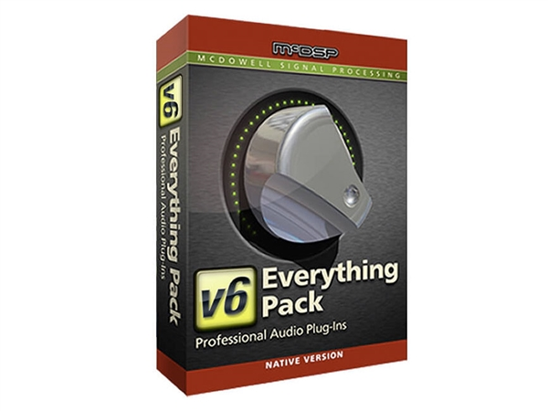 McDSP Everything Pack Native v6 (Download)