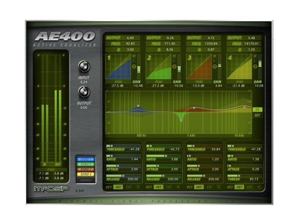 McDSP AE400 Active EQ HD v6 (Download)