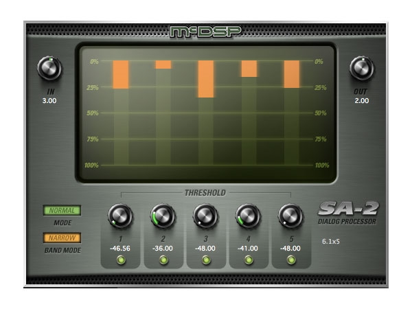 McDSP SA2 Dialog Processor HD v6 (Download)
