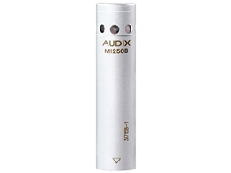 AUDIX M1250BWO White Micro Omnidirectional Condenser Microphone