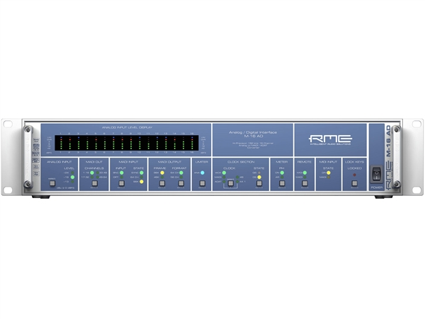 RME M-16AD 16-Channel High-End Analog to MADI/ADAT Converter