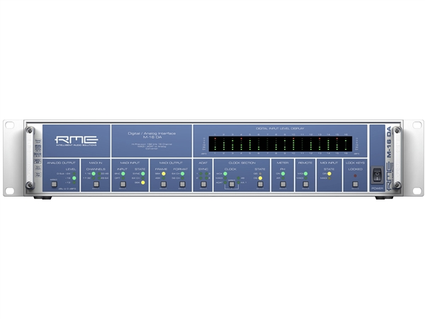 RME M-16DA - 16-Channel High-End MADI/ADAT to Analog Converter