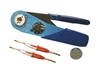 Whirlwind M1R-TOOL KIT - MASS, crimp tool with contact locator and extractor