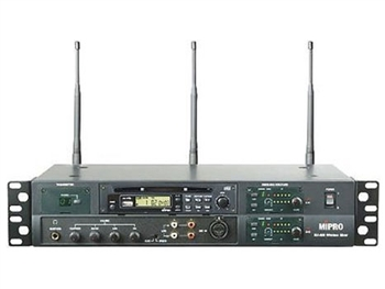 MIPRO MA-909D, Professional UHF Wireless Mixer with CD player, without receivers and transmitter