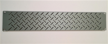 MA-DV2S, 2RU Silver Vent Rack Panel, Middle Atlantic