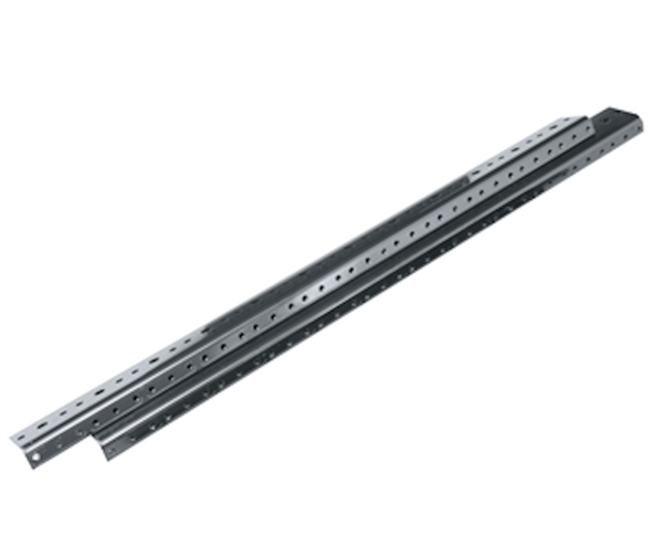 Middle Atlantic MA-FHR8 - 1 Pair 8 RU Black Rack Rails