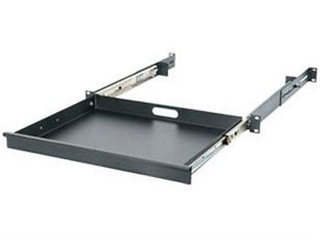 Middle Atlantic UD1 - 1 rack space (1.75 in) Utility Drawer - Black Powder Coat Finish