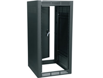 "Middle Atlantic WRK-24SA-27 - 24 Space 27"" Deep Stand alone Rack w/Rear Door, Black"