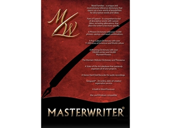 MasterWriter Songwriters Software Suite