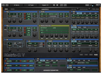 Arturia Oberheim Matrix12 V, Software Synthesizer (Download)