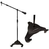 MC-125 Studio Boom Mic Stand,with locking wheels Ultimate Support
