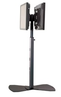 "Chief MF26000B, Flat Panel Dual Display Floor Stand (30-55"" Displays)"