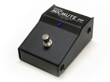 Whirlwind MICMUTE-PP - Switcher, Microphone / Line-Level, XLR I/O