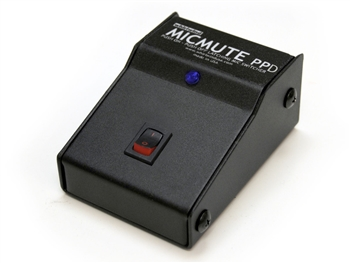 Whirlwind MICMUTE-PPD - Switcher, Microphone / Line-Level, XLR I/O
