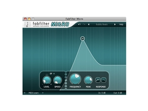 FabFilter Micro Plug-in, Classic FabFilter sound at lower price (Download)