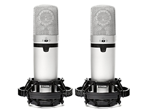 Miktek C7MP Matched Pair large diaphragm Condenser mics
