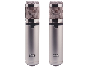 Miktek CV4MP Matched Pair large diaphragm Tube Condenser mics