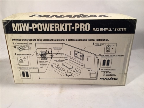 Furman MIW-POWER-PRO-PFP In-Wall Power Management