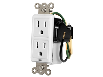 Furman MIW-SURGE-1G - 15A In-Wall Duplex, 2 Outlets w/ Surge Protection