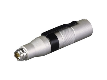 MIPRO MJ-53, Mini-XLR to XLR adaptor, convert any Mipro Mini-XLR terminated lavalier or headworn to a wired mic