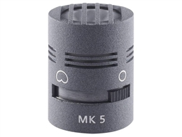 Schoeps MK5g Omni and Cardioid Microphone Capsule, Gray finish