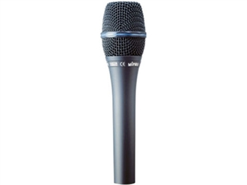 MIPRO MM-707C/P, Handheld Hypercardioid Condenser Microphone (Phantom power only)