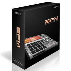 MOTU BPM 1.5 - Rhythm production software