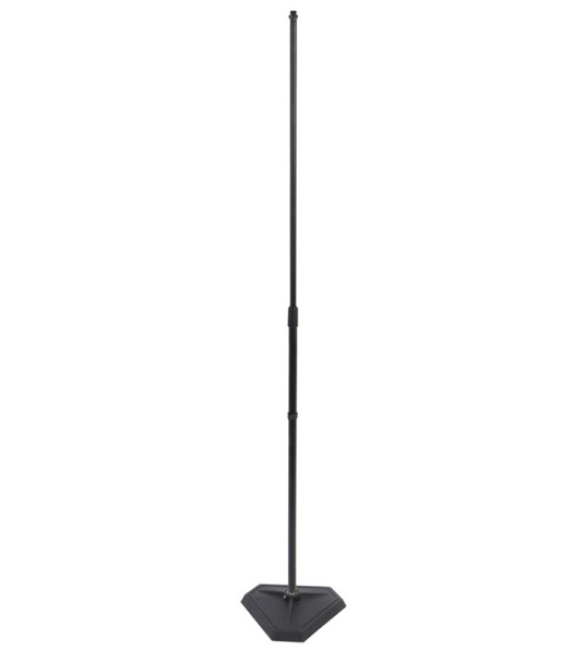 On-Stage MS7625B - hex base - 1/4 turn threadless - Microphone Stand