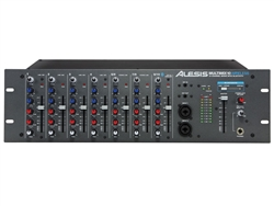 Alesis MultiMix 10 Wireless - Bluetooth 10-Channel Mixer in a 3U Rack