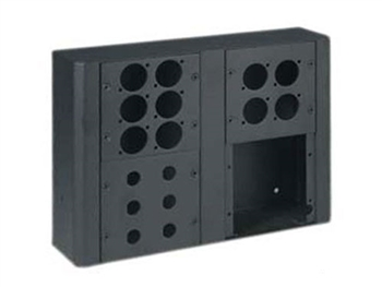 Chief Raxxess MWB-2 Wall Box, Holds 2 Modular Panels